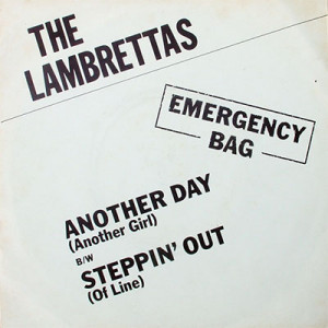Lambrettas' Another Day (Another Girl) sleeve